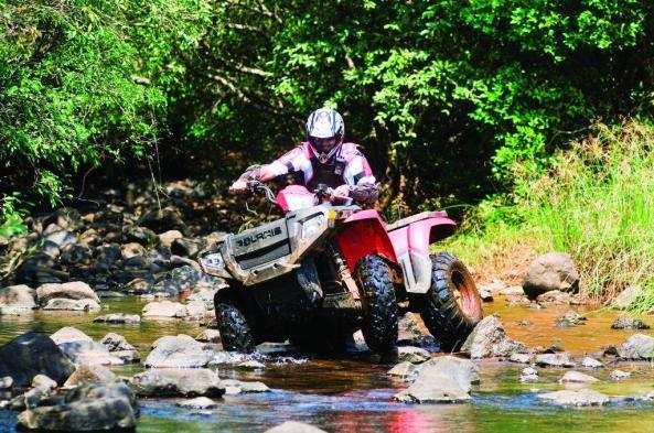 ATV ride at 19 Degree North