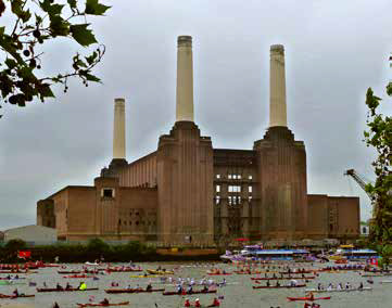 battersea power station, london, england