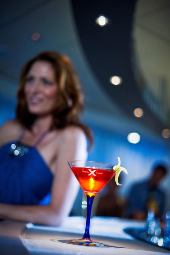 Martini Bar at celebrity cruises