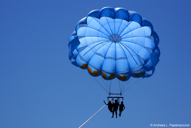 Parachuting in Cyprus