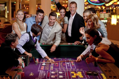 A casino on a celebrity cruise. Photo: Celebrity cruise