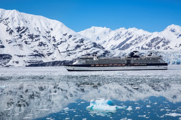Millennium at Hubbard Glacier - Alaska in Celebrity Solstice