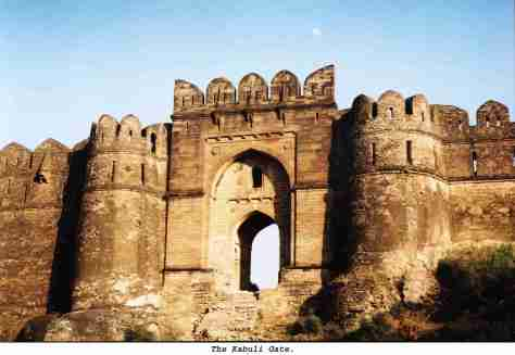 Magnificent Kabuli Gate of Rohtas Fort