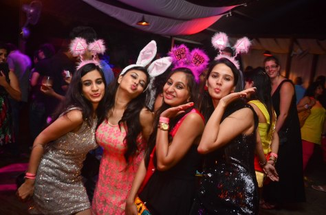 Bachelorette Party at SinQ Beach Club in Candolim, Goa