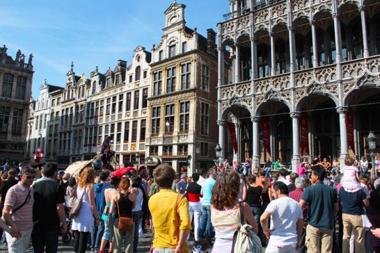 Grand Place - Grote Market. ©  Jean-Pol Lejeune
