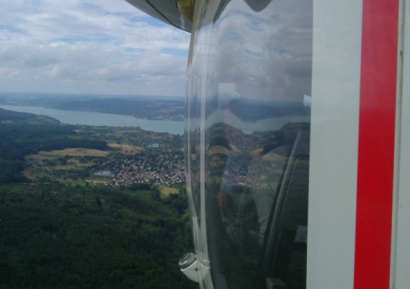 View from the airship