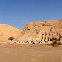 Sun aligns with Abu Simbel Temple in Aswan
