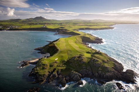 Old Course on Porth Dinllaen Peninsula