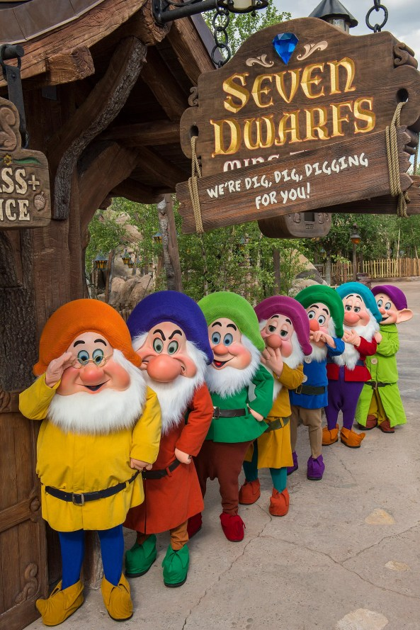 Seven Dwarfs Mine Train at Walt Disney World Resort, Florida
