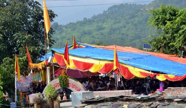 Celebrations at Nauti village