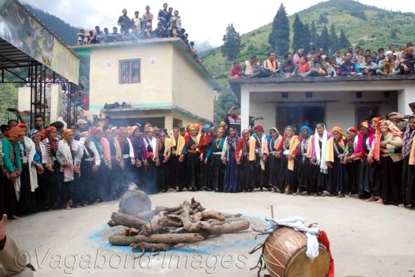 Traditional dance at Waan