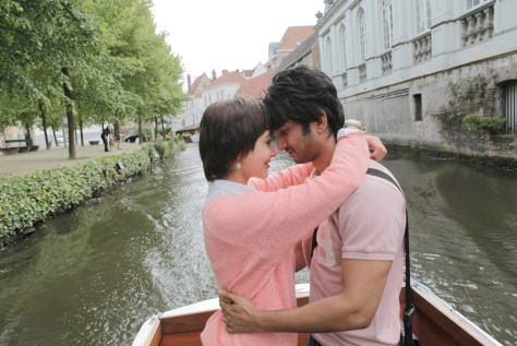 Sushant Singh Rajput and Anushka Sharma at Bruges_