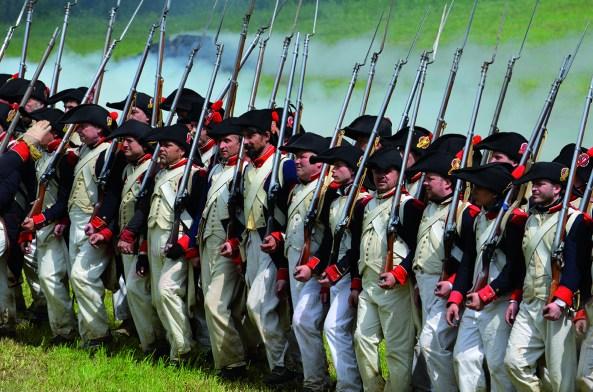 Battle of Waterloo Reenactment. Photo: Chantal Crävecoeur