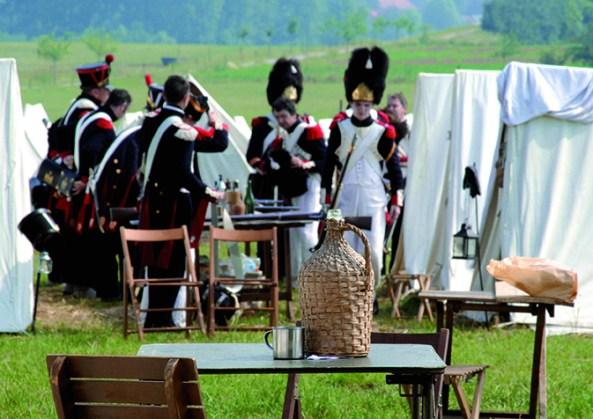 Battle of Waterloo Reenactment - Photo:  Vincent Pittard