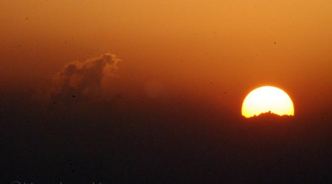 Myriad colours of a sunrise