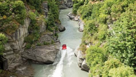 Shotover River in Queenstown