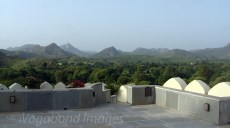 View of village from terrace close to swimming pool!
