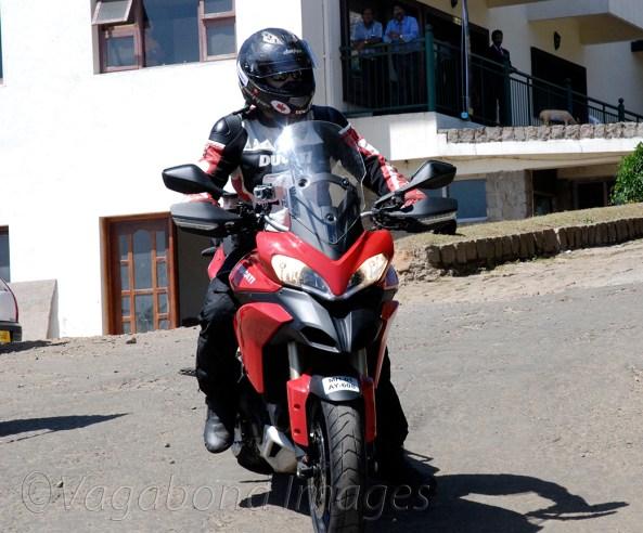 Ducati testride