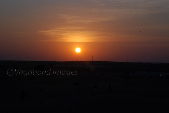 Sunset at Thar3