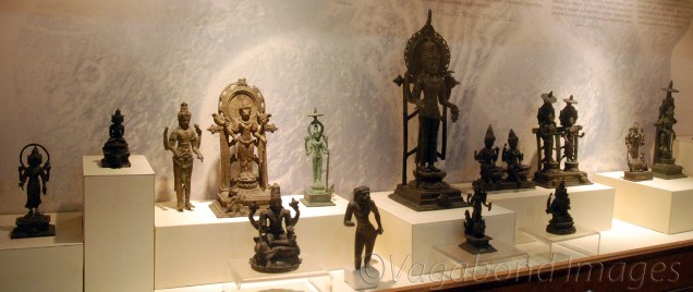 Bronze statues of different Hindu Gods