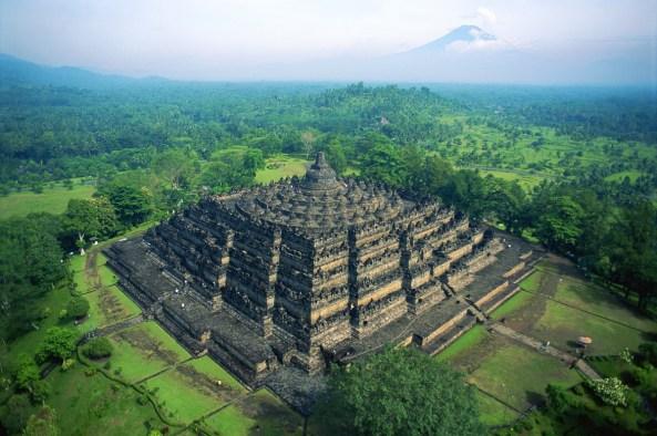 Borobudur-Aerial