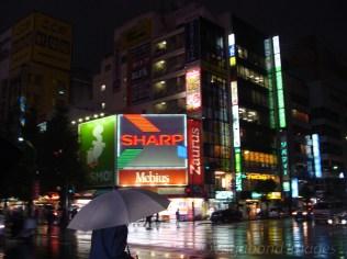An umbrella is always handy in Tokyo!