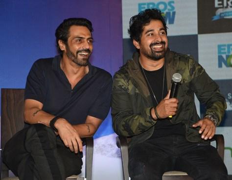 Arjun Rampal and Ranvijay Singh Rana