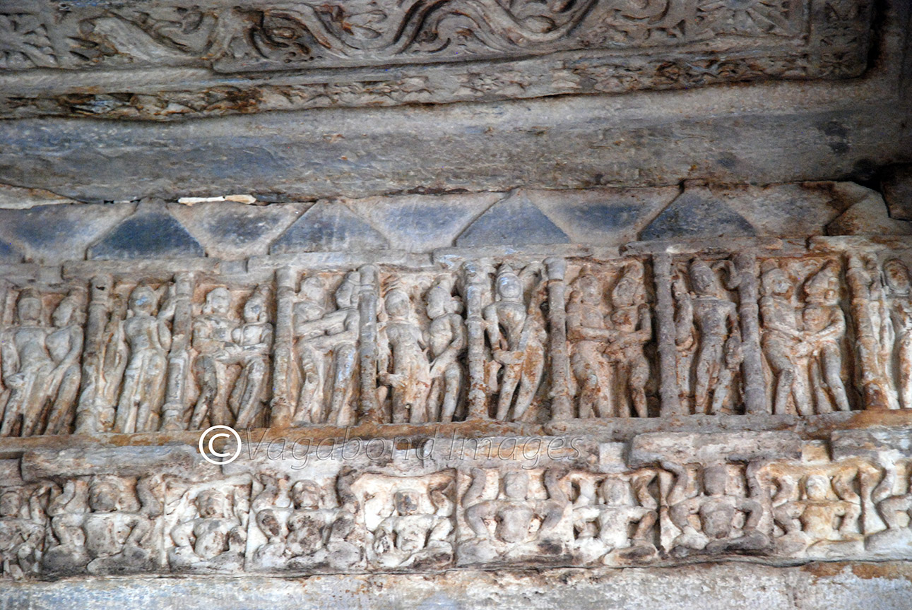relief panel inside the min hall