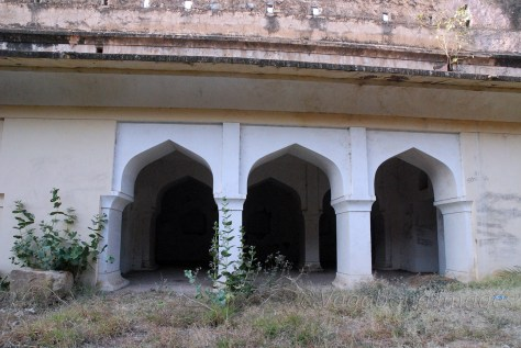 Entering inside the fort