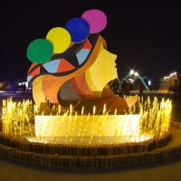 Traditional folklore and cool technology are woven together at Taiwan Lantern Festival
