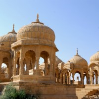 Bada Bagh: An oasis and cenotaphs side by side!