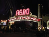 Night Reno Arch