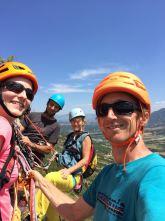 Summit selfie avec Caroline, Françoise et Yohann