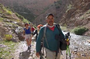 Hammed Oulfakir, notre guide et ami.