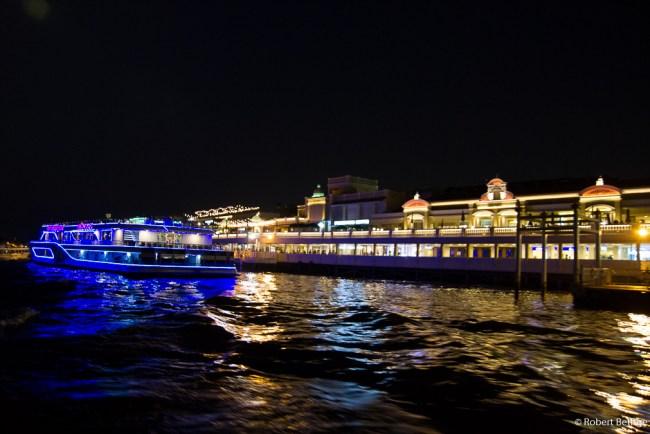 by boat to Bangkok Chinatown
