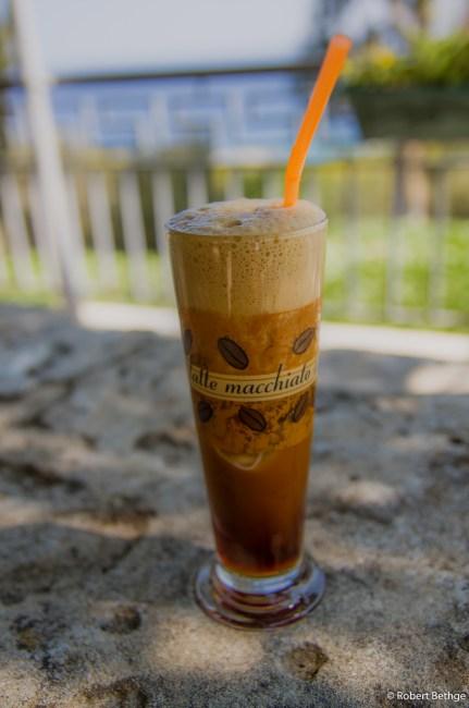 ice cold greek coffee