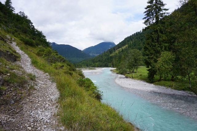 Aufstieg Karwendelhaus