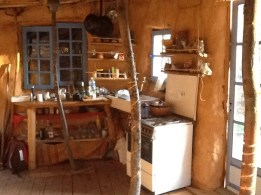 Lehmhütte