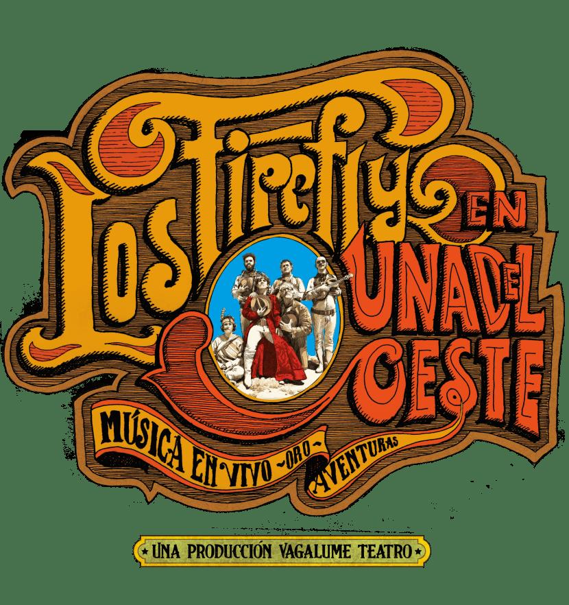Logotipo del espectáculo Los Firefly