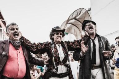 Los Firefly de vagalume Teatro. Foto de Andrés Castillo.