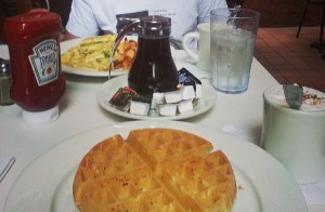 New York - Desayuno - Waffle