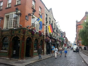 Pubs en Temple Bar, Dublín