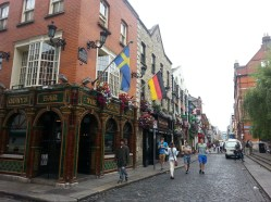 Pubs en Temple Bar, Dublín