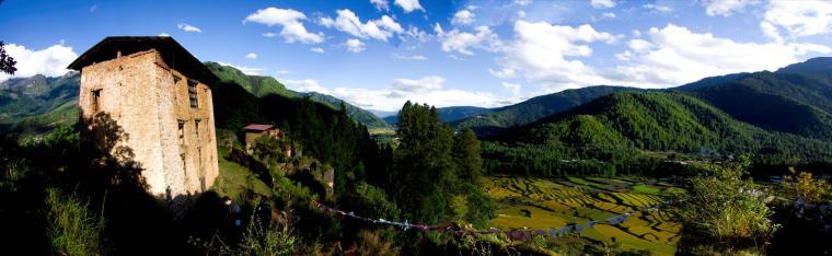 Dzong de la Victoria en Bután