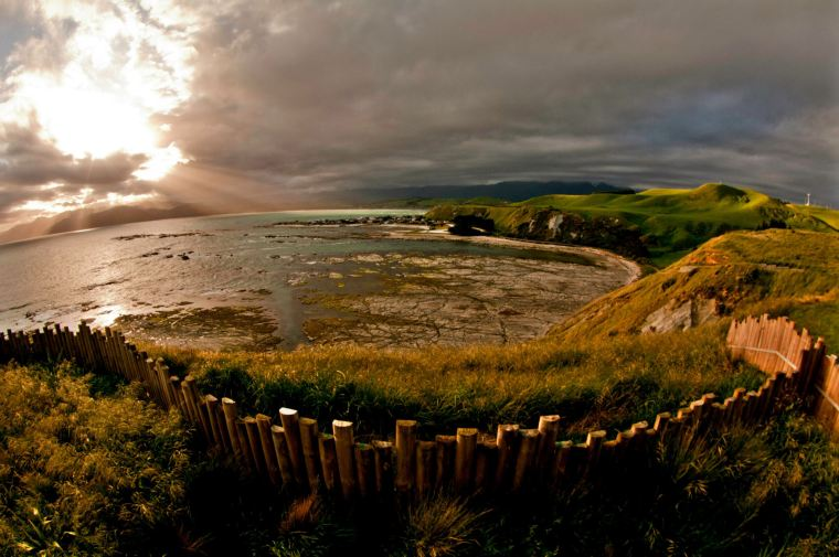 Vistas durante la ruta de la Península de Kaikoura en Nueva Zelanda