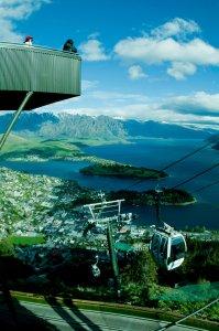 Skyline Gondola en Queenstown, Nueva Zelanda