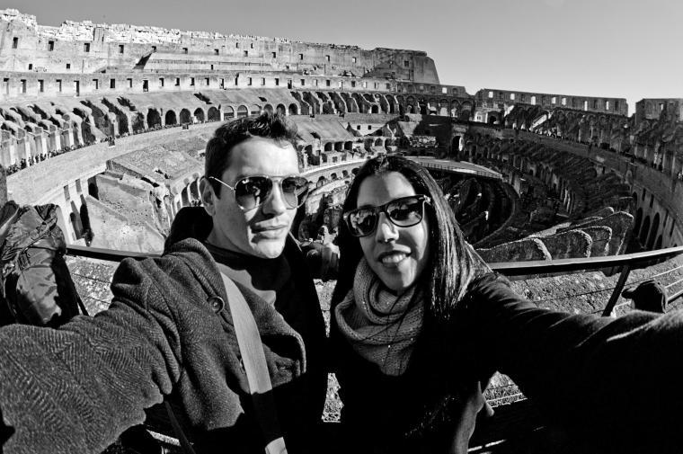 En el Coliseo de Roma
