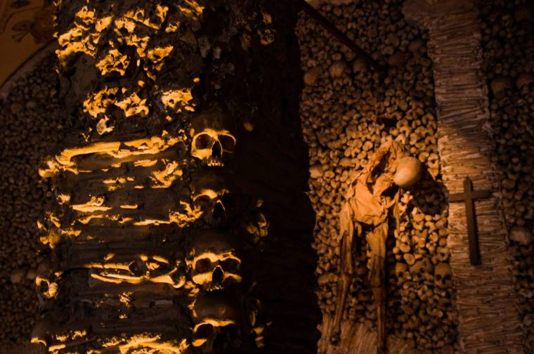 Capilla de huesos en Évora