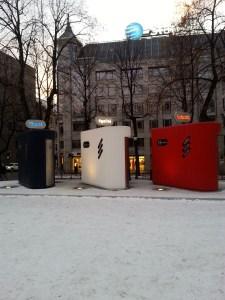 Baños públicos en Oslo en homenaje a la República Francesa