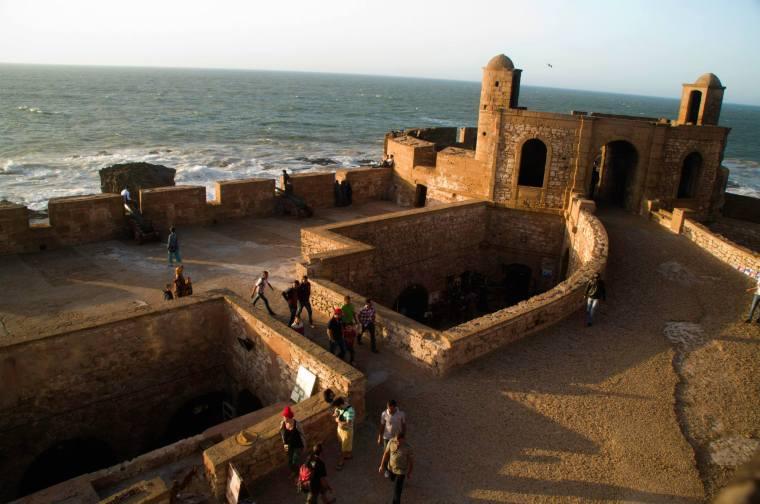 Murallas de Esauira. En esta zona se rodaron escenas de Juego de Tronos ambientadas en Astapor